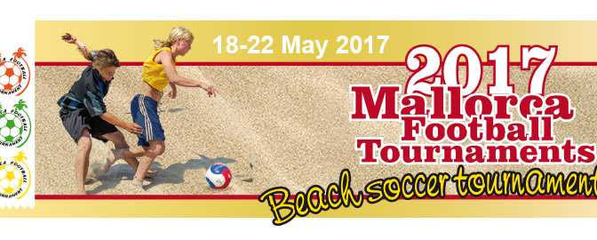 Invitation for the Mallorca beach soccer tournament for Government teams 2017 in Santa Ponca Mallorca